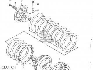 Suzuki Dr350 1997 (v) Usa (e03) parts list partsmanual