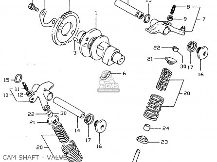 Suzuki Dr350 1998 (sex) parts list partsmanual partsfiche