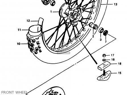 Suzuki Dr350 1998 (w) parts list partsmanual partsfiche