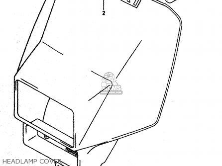 Suzuki DR350 1998 (W) parts lists and schematics