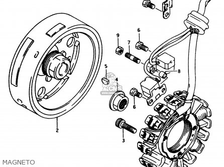 Suzuki DR350 1998 (W) parts lists and schematics