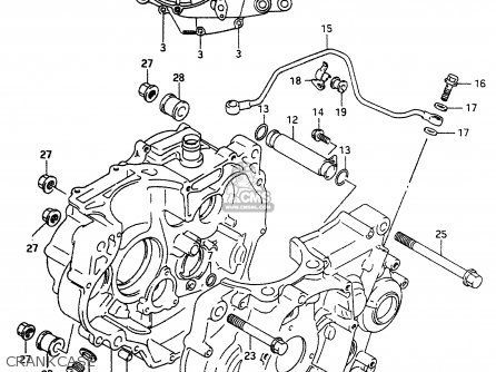 Suzuki Dr350 1999 (x) parts list partsmanual partsfiche