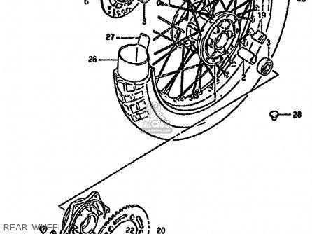 Suzuki DR350S 1991 (M) (E02 E04 E15 E17 E18 E21 E22 E24