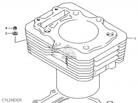 Suzuki DR350SE 1995 (S) parts lists and schematics