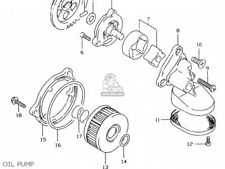 Suzuki DR350SE 1998 (W) parts lists and schematics