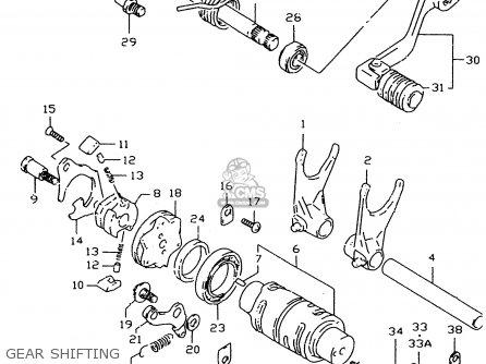 Suzuki DR350SE 1998 (X) parts lists and schematics