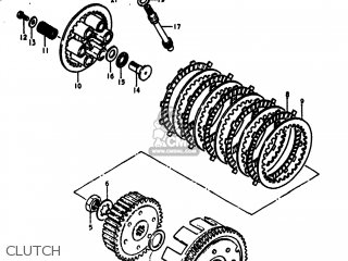 Suzuki Dr370 1978 (c) Usa (e03) parts list partsmanual
