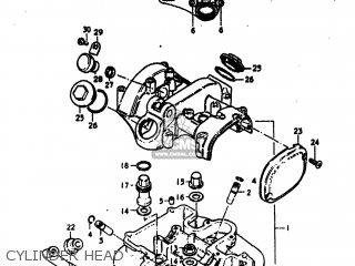 Suzuki Dr370 1978 (c) Usa (e03) parts list partsmanual