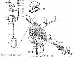 Suzuki DR400 1980 (T) USA (E03) parts lists and schematics