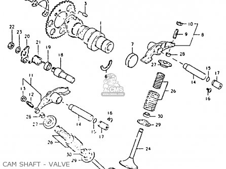 Suzuki DR400S 1980 (T) parts lists and schematics
