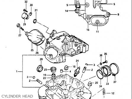 Suzuki Dr500 1981-1982 (usa) parts list partsmanual partsfiche