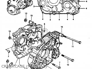 Suzuki Dr500 1981 (x) Usa (e03) parts list partsmanual