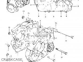 Suzuki Dr500 1983 (d) Usa (e03) parts list partsmanual