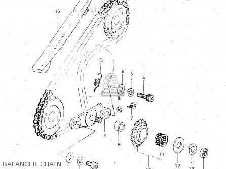 Suzuki Dr500 1984 (se) parts list partsmanual partsfiche