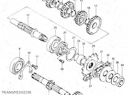 Suzuki Dr500s 1983 (d) parts list partsmanual partsfiche