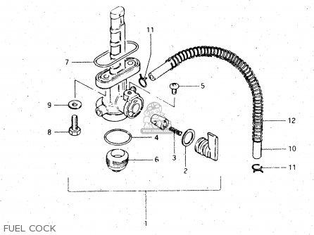 Suzuki DR500S 1984 (E) parts lists and schematics