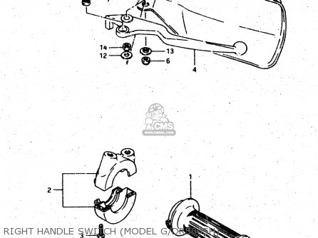 Suzuki Dr500s 1988 (j) parts list partsmanual partsfiche