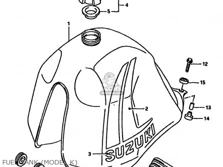 Suzuki Dr600 1987 (sh) parts list partsmanual partsfiche