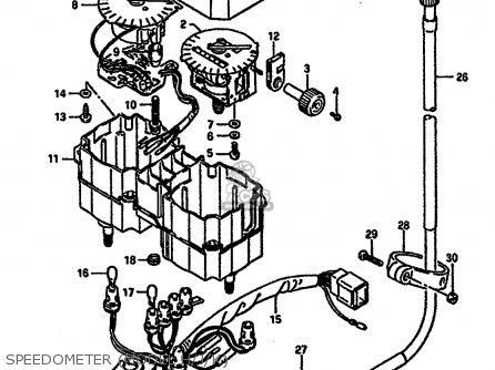 Suzuki Dr600r 1987 (h) (e02 E04 E06 E15 E16 E17 E18 E22