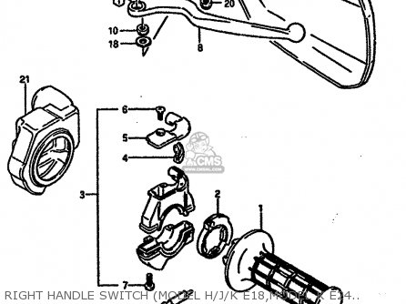 Suzuki DR600RU 1987 (H) parts lists and schematics