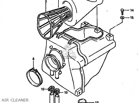 Suzuki DR600RU 1988 (J) parts lists and schematics