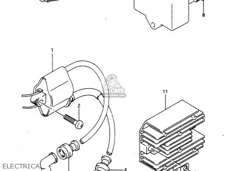 Suzuki Dr650 1990 (rl) parts list partsmanual partsfiche
