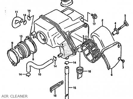 Suzuki Dr650 1991 (rsem) parts list partsmanual partsfiche