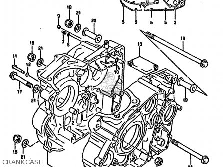 Suzuki Dr650 1991 (rsem) parts list partsmanual partsfiche