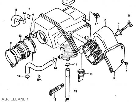 Suzuki Dr650 1991 (rsm) parts list partsmanual partsfiche