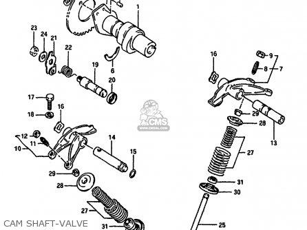Suzuki Dr650 1991 (rsm) parts list partsmanual partsfiche