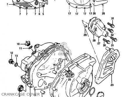 Suzuki Dr650 1991 (rsum) parts list partsmanual partsfiche
