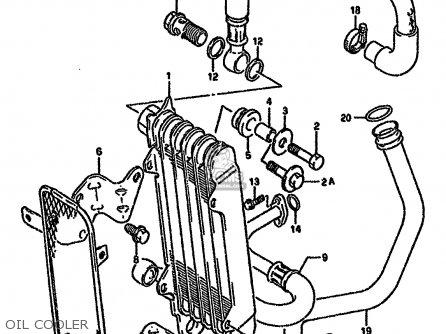 Suzuki Dr650 1992 (rsen) parts list partsmanual partsfiche