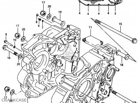 Suzuki Dr650 1994 (rer) parts list partsmanual partsfiche