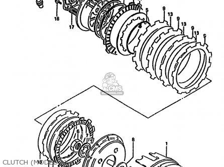Suzuki Dr650 1994 (rr) parts list partsmanual partsfiche