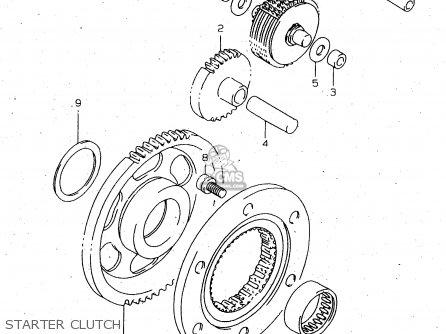 Suzuki Dr650 1999 (seux) parts list partsmanual partsfiche