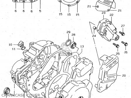 Suzuki Dr650 2000 (seuy) parts list partsmanual partsfiche