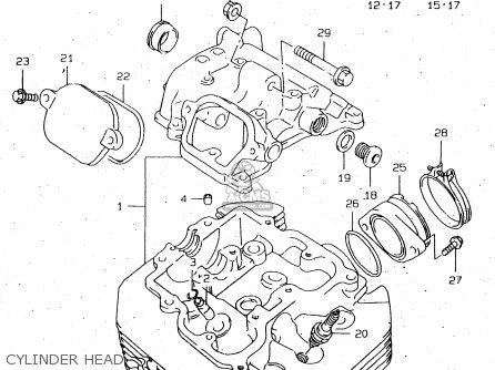 Suzuki Dr650 2000 (seuy) parts list partsmanual partsfiche