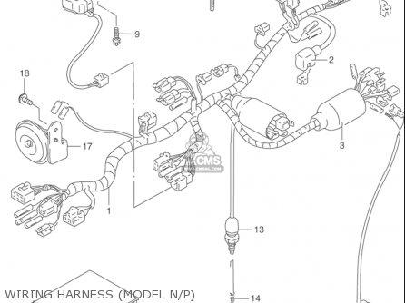 Suzuki Dr650 Se 1992-1995 (usa) parts list partsmanual