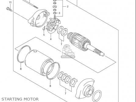 Suzuki Dr650 Se (usa) parts list partsmanual partsfiche