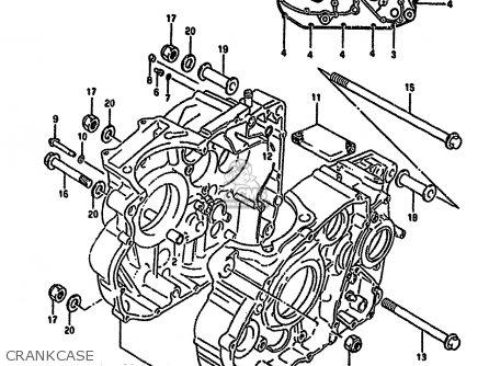 Suzuki Dr650r 1992 (n) (e02 E04 E17 E18 E21 E22 E24 E34