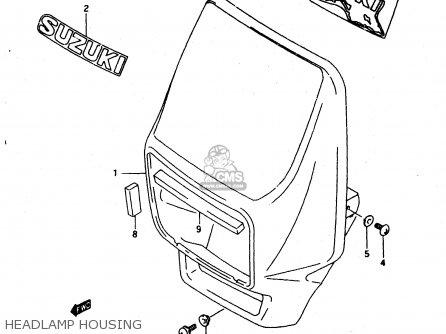 Suzuki DR650RE 1994 (R) (E02 E04 E17 E18) parts lists and