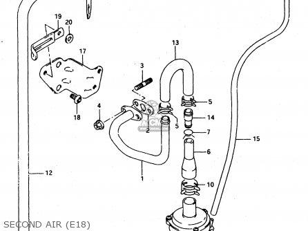 Suzuki Dr650re 1994 (r) (e02 E04 E17 E18) parts list