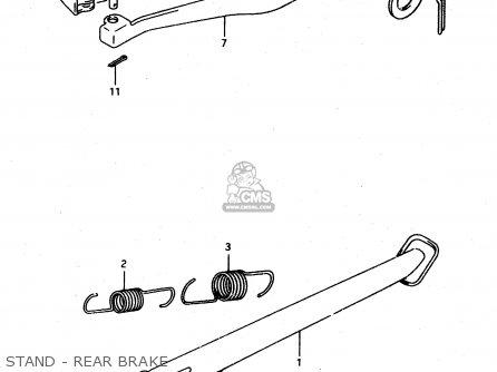 Suzuki DR650RE 1995 (S) (E02 E04 E18) parts lists and
