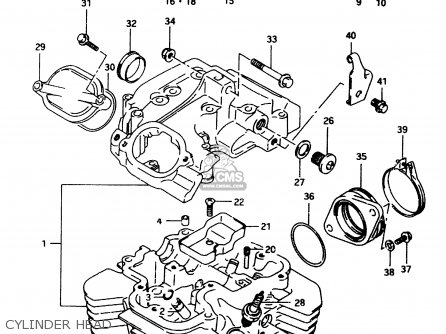 Suzuki DR650REU 1994 (R) (E22) parts lists and schematics