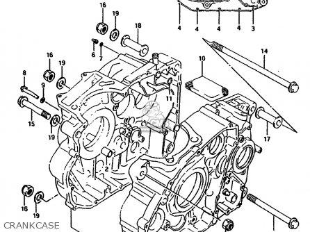 Suzuki Dr650rs 1990 (l) (2 4 15 E16 E17 E18 E21 E22 E24