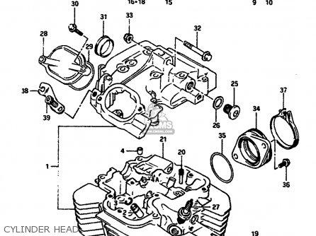 Suzuki DR650RS 1991 (M) (2 4 15 E16 E17 E18 E21 E22 E24