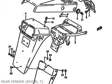 Suzuki Dr650rse 1991 (m) (2 4 15 16 E17 E18 E21 E22 E24