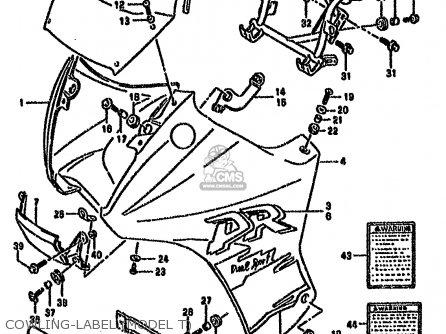Suzuki DR650RSE 1995 (S) (E04 E18 E22 E34 E37) parts lists