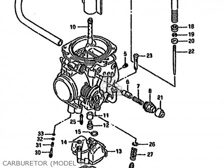 Suzuki Dr650rseu 1995 (s) Germany (e22) parts list