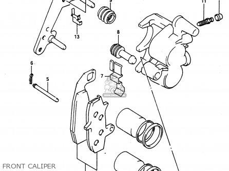 Suzuki Dr650ru 1990 (l) Wgermany Australia (e22 E24) parts